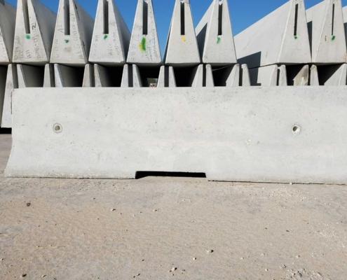 10-Foot Concrete Barrier
