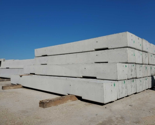 Low Profile Concrete Barrier